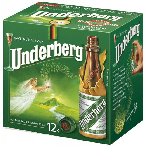 eWorld24 Underberg Kräuter-Bitter 12er