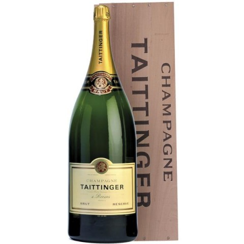 Taittinger Champagner Brut Reserve Balthazar Flasche 12 Liter