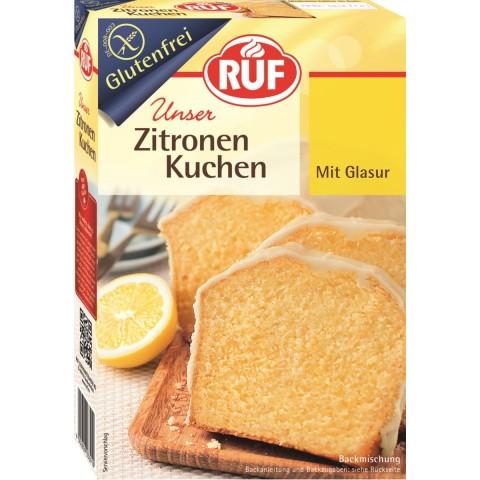 Ruf Unser Zitronenkuchen mit Glasur glutenfrei