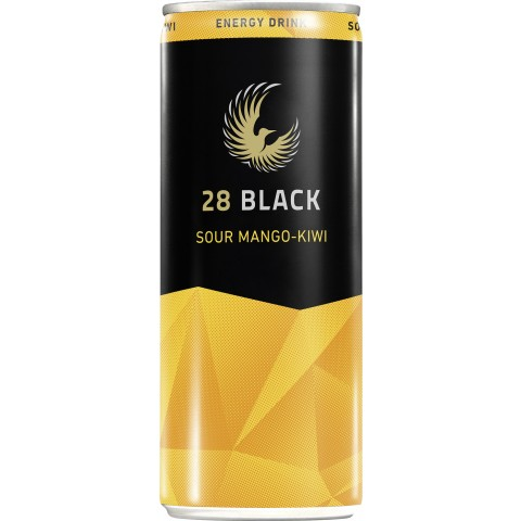 28 Black Sour Mango-Kiwi 250 ml