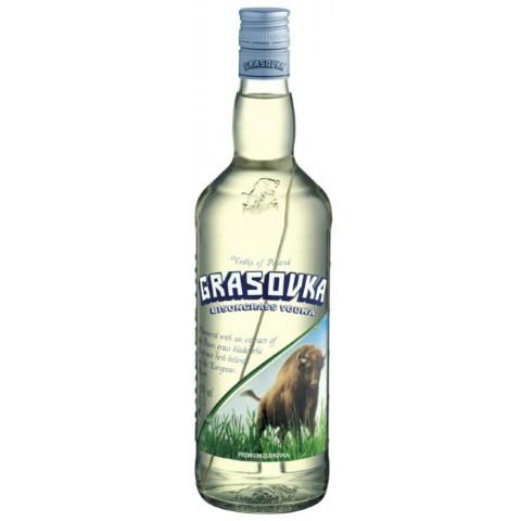 Grasovka Polnischer Bison Brand Wodka