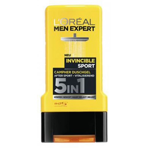 L'Oréal Men Expert Invincible Sport Campher 5in1 Duschgel 0,3 ltr