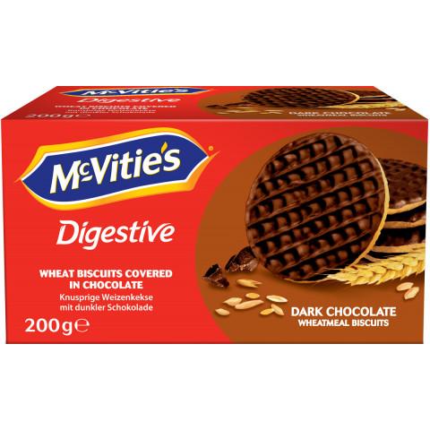 Mc Vities Dark Chocolate Weizenkekse 200G
