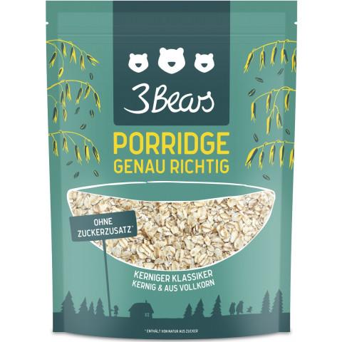 3 Bears Porridge Kerniger Klassiker 400 g