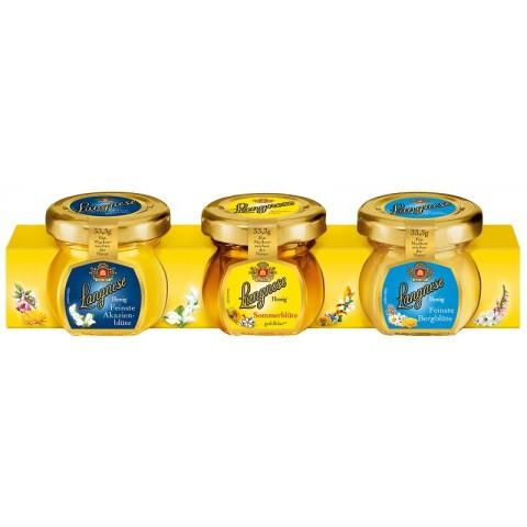 Langnese Mini-Honig-Spezialitäten 3x 33,3 g