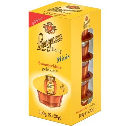 Langnese Minis Sonnenblüte Honig goldklar