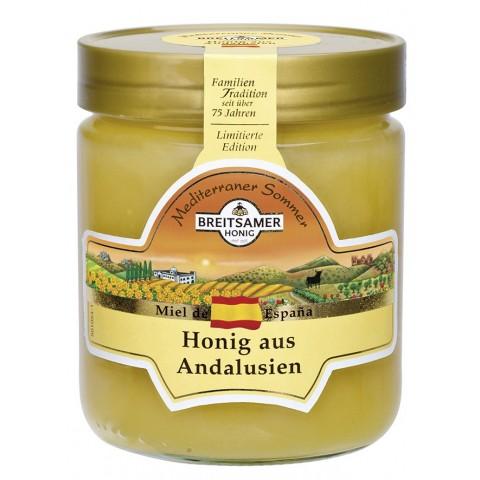 Breitsamer Mediterraner Sommer Honig aus Andalusien 500 g