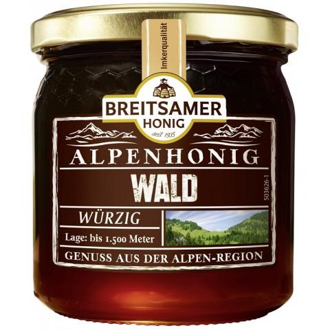 Breitsamer Alpenhonig Wald 500 g