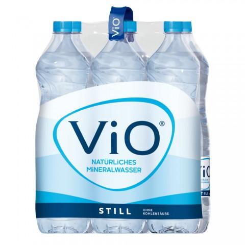 Vio Mineralwasser Still PET 6x 1,5 ltr