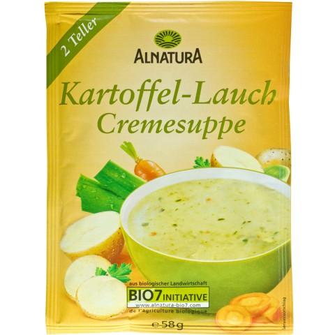 Alnatura Bio Kartoffel-Lauch Cremesuppe