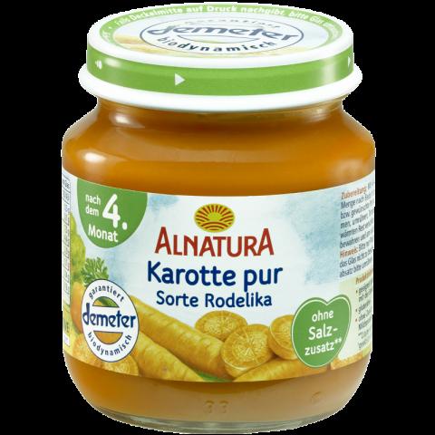 Alnatura Bio Karotte pur, nach dem 4. Monat 125 g