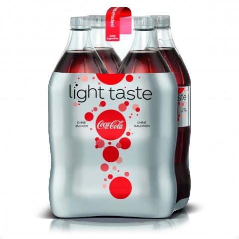 Coca-Cola Coke light PET 4x 1,5 ltr