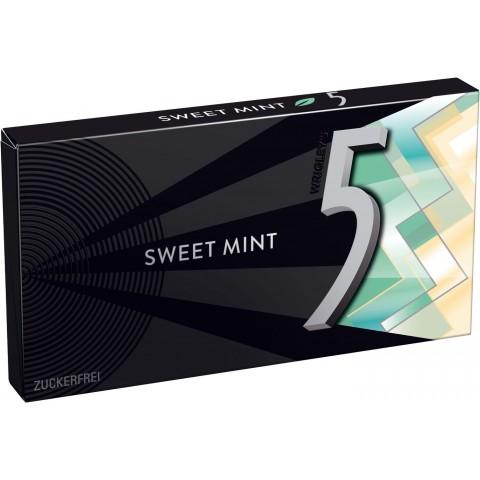 Wrigleys 5 Gum Sweet Mint 8 Stück