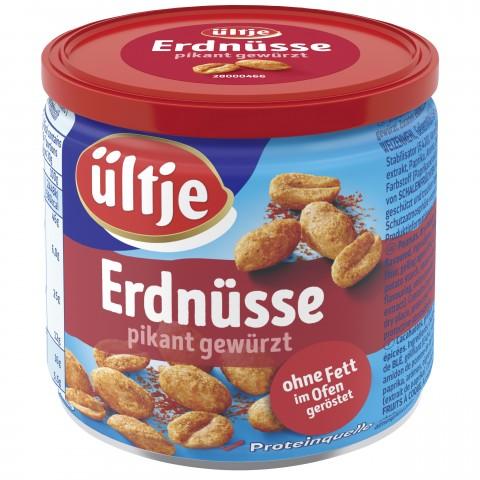 Ültje Erdnüsse pikant gewürzt 190 g
