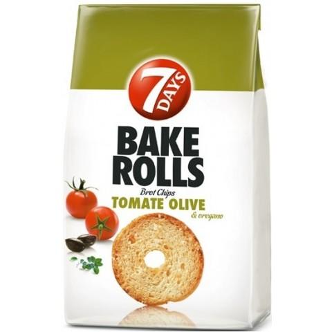 7 Days Bake Rolls Tomate-Olive 250 g