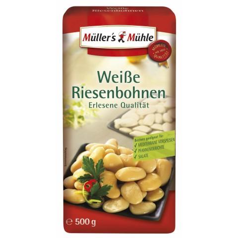 Müller's Mühle Weiße Riesenbohnen 500 g
