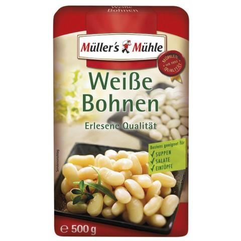 Müller's Mühle Weiße Bohnen 500G