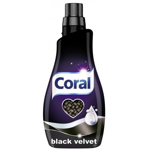 Coral Black Velvet Waschmittel Flüssig 1,1 L