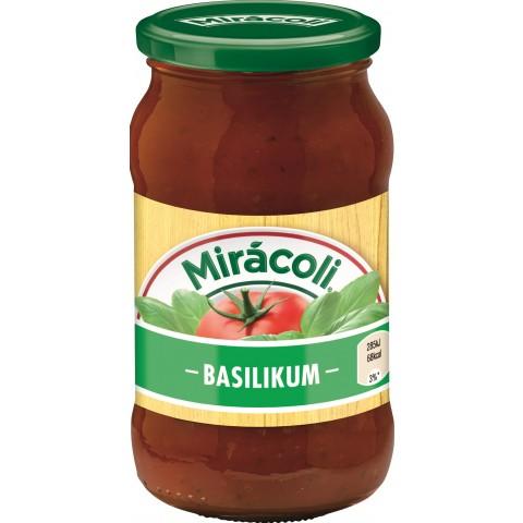 Miracoli Pasta Sauce mit Basilikum 400 g