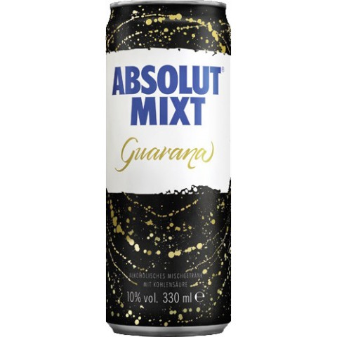 Absolut Mixt Guarana 0,33 ltr