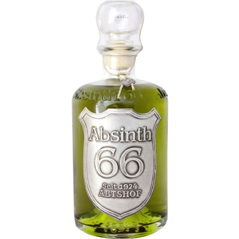 Abtshof Absinth 66% in Apothekerflasche