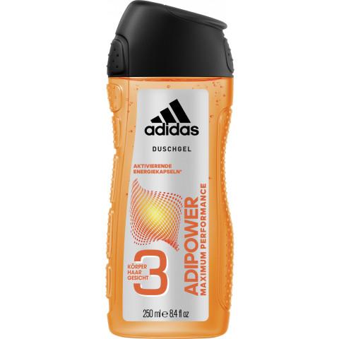 adidas Duschgel 3in1 Adipower Maximum Performance 250ML