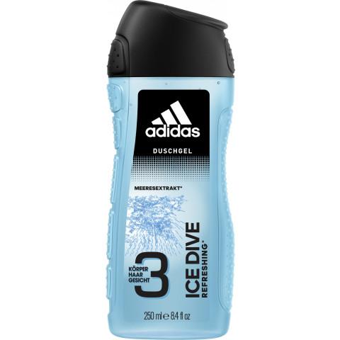 adidas Duschgel 3in1 Ice Drive Refreshing 250Ml