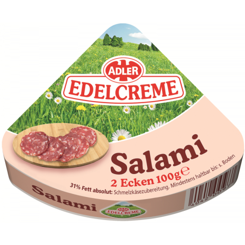 ADLER Edelcreme Salami 2x 50 g