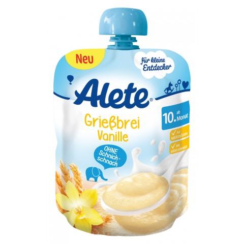 Alete Grießbrei Vanille ab dem 10. Monat