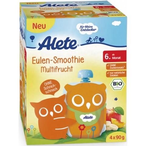 Alete Bio Eulen-Smoothie Multifrucht ab dem 6. Monat