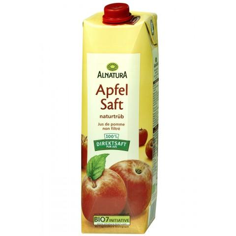 Alnatura Bio Apfelsaft naturtrüb 1 ltr