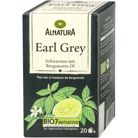 Alnatura Bio Earl Grey 20ST 35G