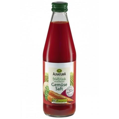 Alnatura Bio Gemüsesaft feldfrisch verarbeitet 0,33 ltr