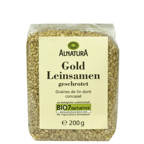 Alnatura Bio Gold Leinsamen geschrotet