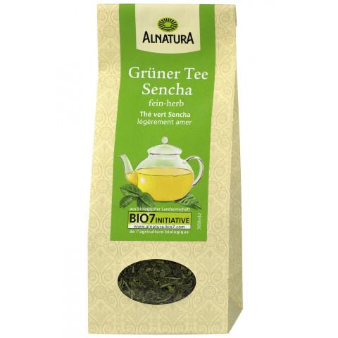 Alnatura Bio Grüner Tee Sencha lose 75G