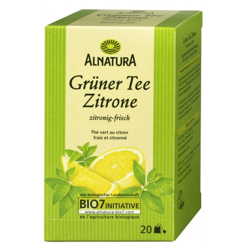 Alnatura Bio Grüner Tee Zitrone