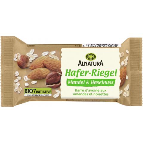 Alnatura Bio Hafer-Riegel Mandel & Haselnuss 60G