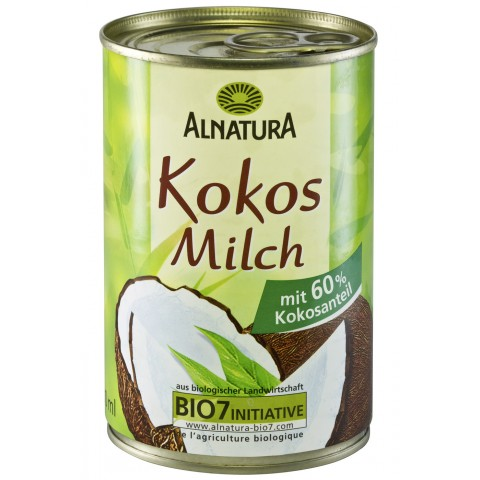 Alnatura Bio Kokos Milch 400 ml