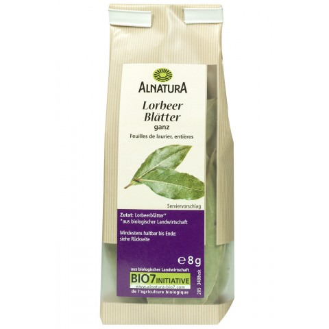 Alnatura Bio Lorbeer Blätter ganz 8 g