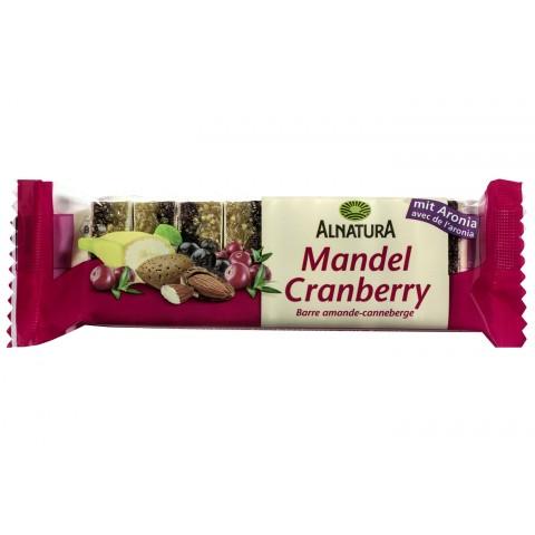 Alnatura Bio Mandel Cranberry Riegel 75 g