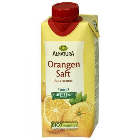 Alnatura Bio Orangensaft klein 0,33 ltr