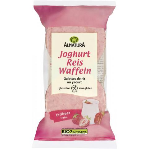 Alnatura Bio Reiswaffeln Joghurt Erdbeer 100G