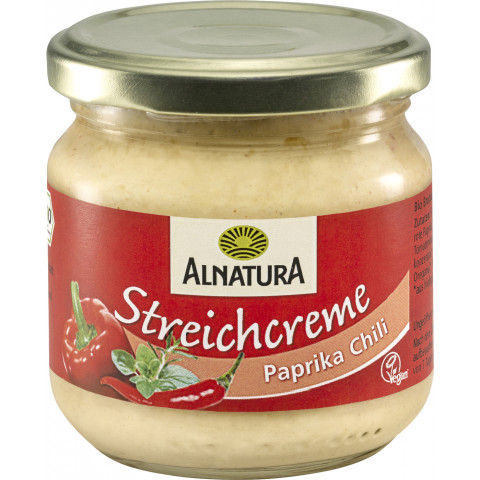 Alnatura Bio Streichcreme Paprika-Chili 180G