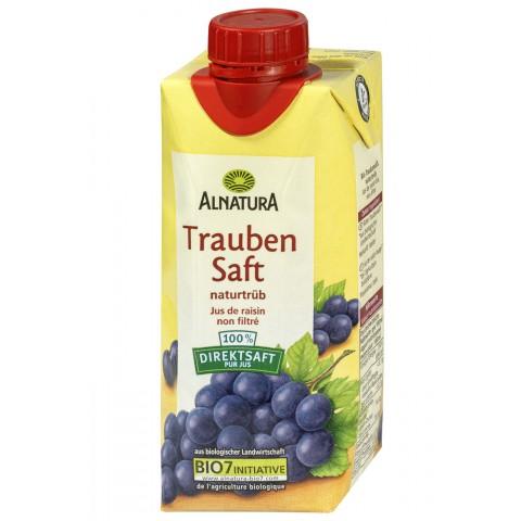 Alnatura Bio Traubensaft naturtrüb 0,33 ltr