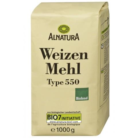 Alnatura Bio Weizenmehl Typ 550 1KG