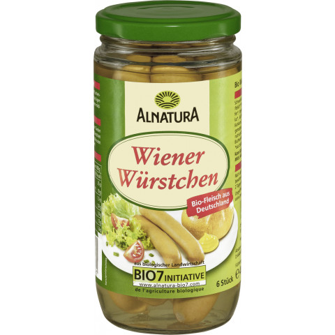 Alnatura Bio Wiener Würstchen 400G