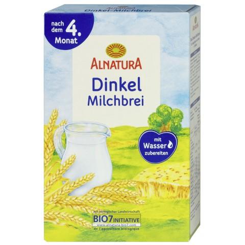 Alnatura Bio Dinkel Milchbrei nach dem 4. Monat