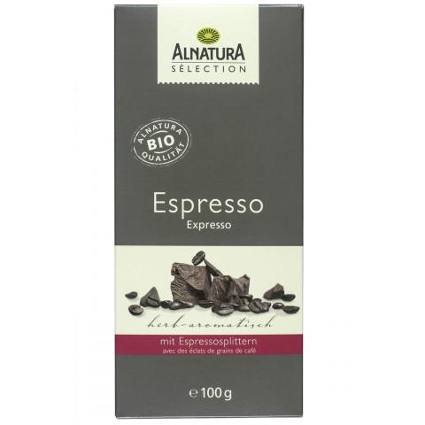 Alnatura Sélection Bio Espresso Schokolade 100 g