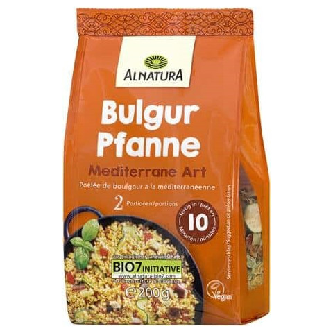 Alnatura Bio Bulgur Pfanne Mediterrane Art 200G