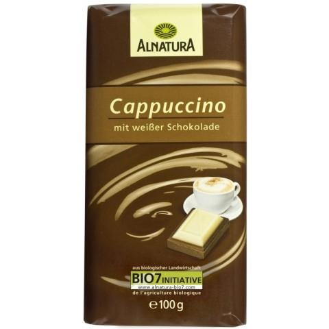 Alnatura Bio Cappuccino mit weißer Schokolade 100 g